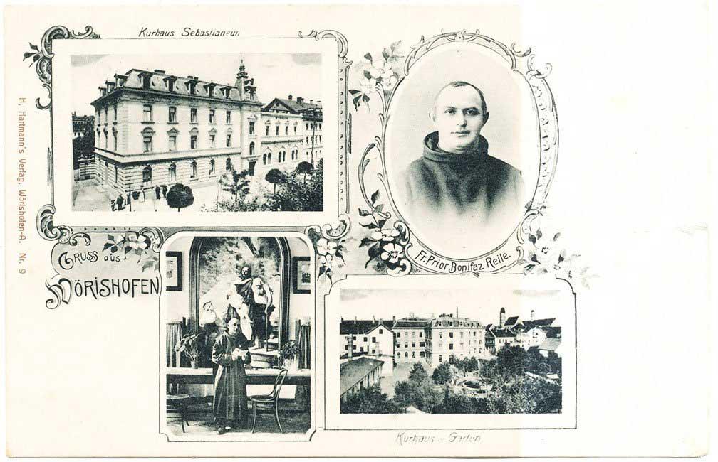 Postkarte: Bonifaz Reile (Hartmann Verlag Bad Wörishofen)