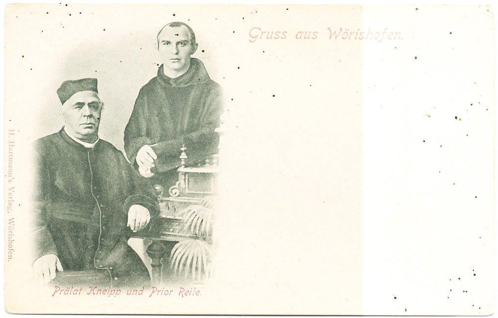 Postkarte: Kneipp und Reile (Hartmann Verlag Bad Wörishofen)
